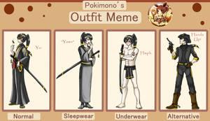 Tensho Outfit Meme by HoiGao