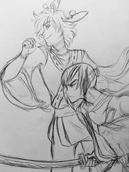[Pokitober: Samurai] by HoiGao