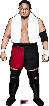Pixel Samoa Joe