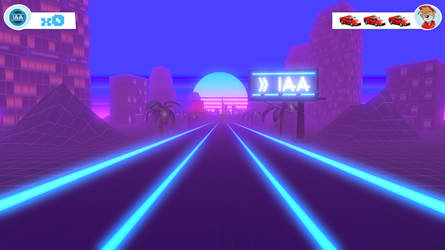 Synthwave Envirornment Design in Unity3D