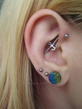 Forward Helix to Conch Indistrial