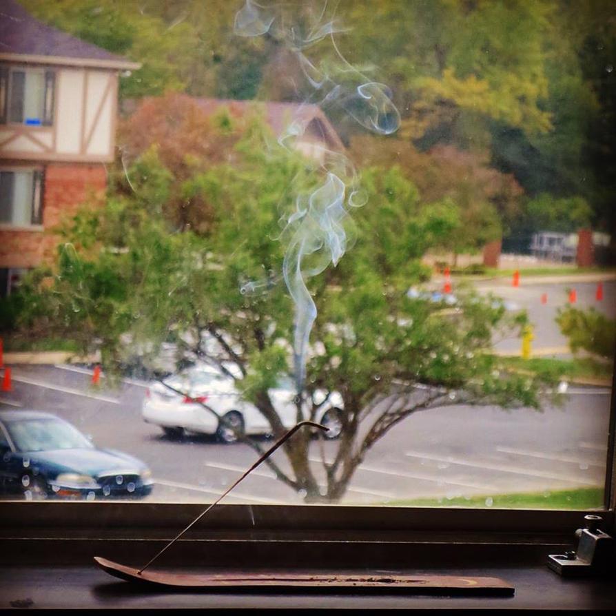 vanilla incense by Kitten--Mittens