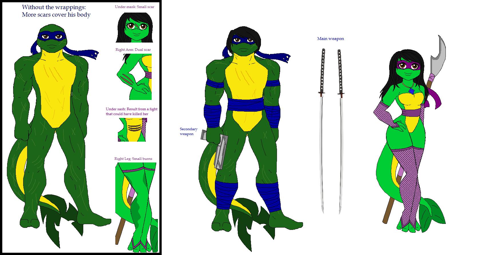 Ninja turtles names girl