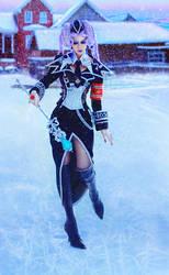 Trinity Blood - Helga von Vogelweide winter ver. 1 by Ank-sama