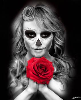 Death holding Life