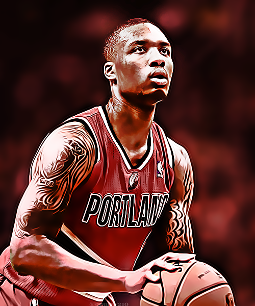 Damian Lillard: Damian Lillard By Onuray210 On DeviantArt
