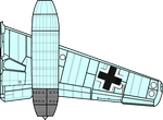 Me 262 Wing Right