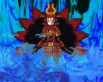 Cursed Kitsune Samurai Wolfy