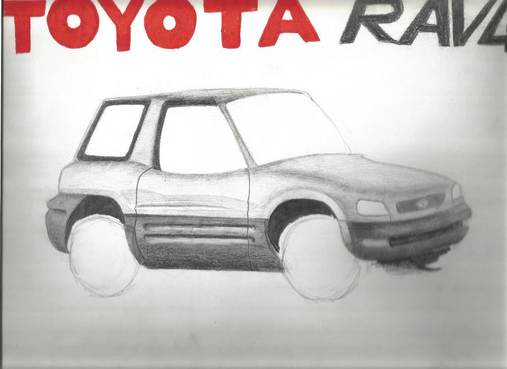 Rav 4 1997 by SalaheddineLAROUSSI