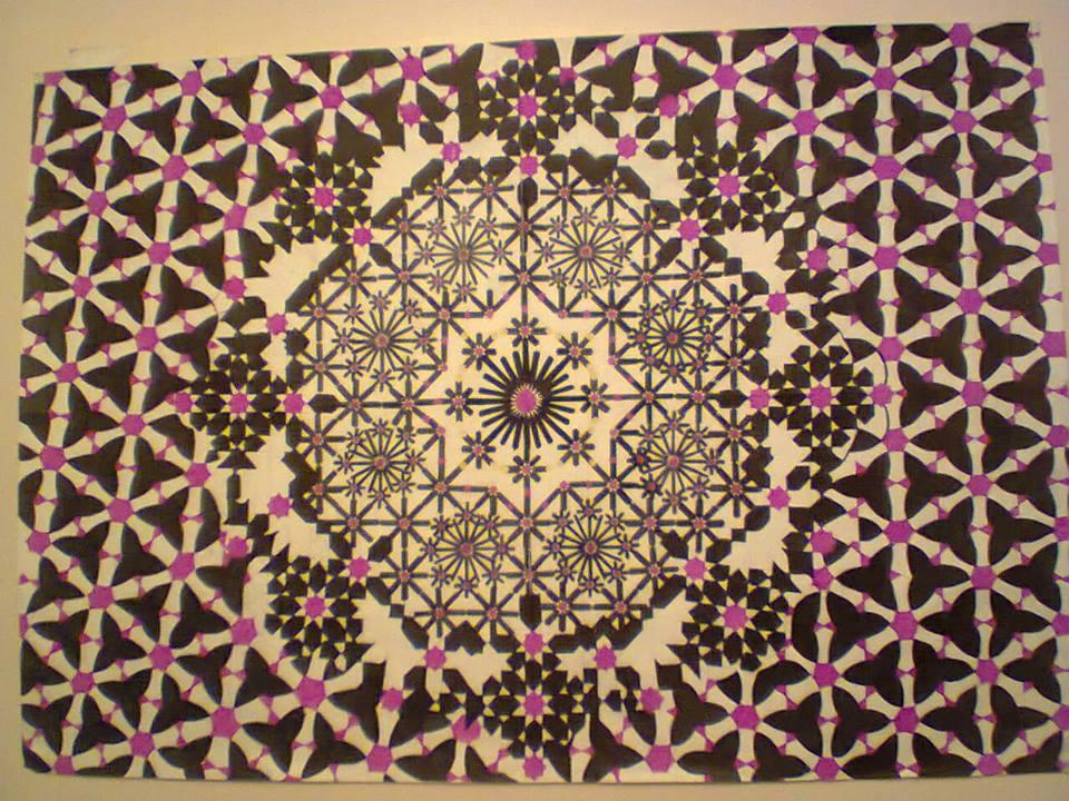 Moroccan Zelij by SalaheddineLAROUSSI