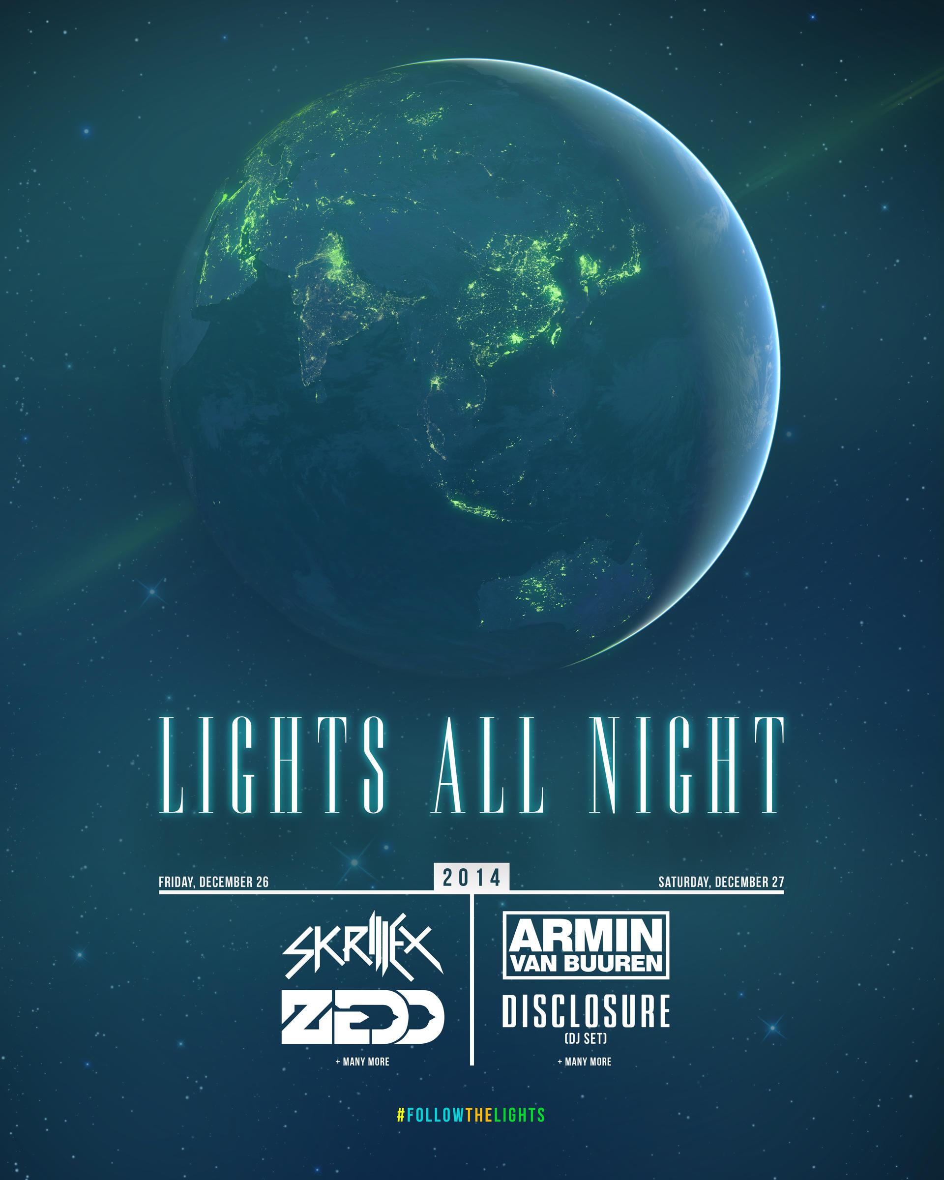 Lights All Night 2014 Poster