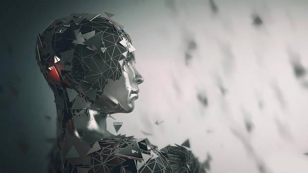 Broken Mind 3D Design