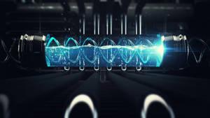 DNA Vial 3D Design