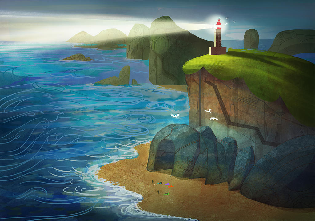 Lighthouse by MooonRiver