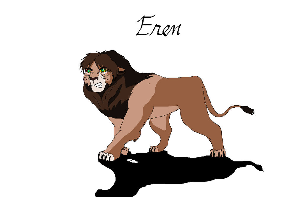 Attack On Titan And The Lion King Crossover Eren By Mmduser23 On