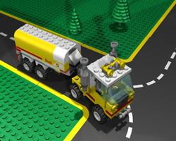 town 1252 - Shell Tanker Truck