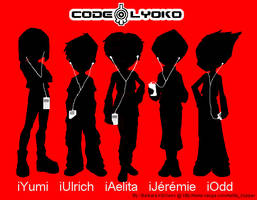 Code Lyoko iPod Gang by DJAelitaHopper