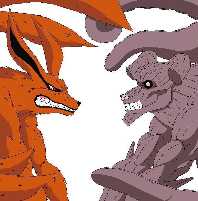 Pin Naruto 4 Tails Roushi Yonbi 9999 Anime Wallpapers on Pinterest