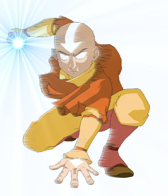 Aang In Avatar State By Dimensionsealer17 On DeviantArt