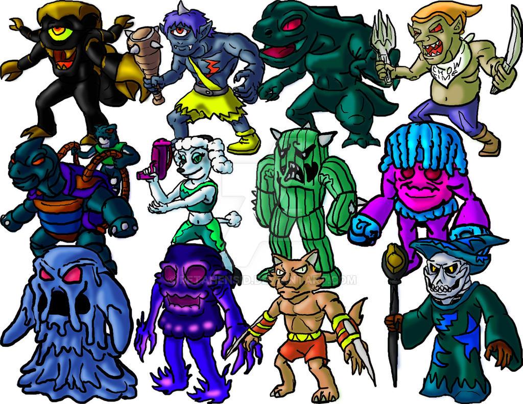 Medievalger Monster 1 by Retahensid