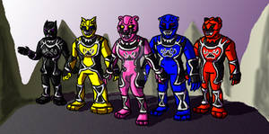 Power Rangers Jungle Charge