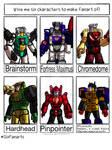 Headmasters Autobot 6FC