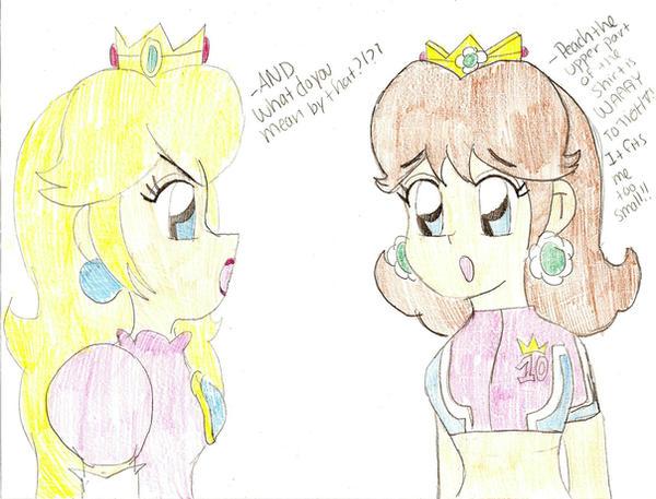 Random Peach and Daisy by Princess-Daisyxox on DeviantArt