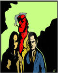 Supernatural X Hellboy 2