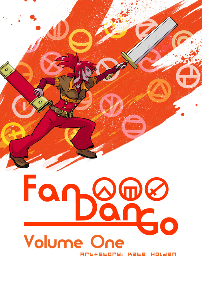Fan Dan Go Volume 1 Cover by darthmongoose