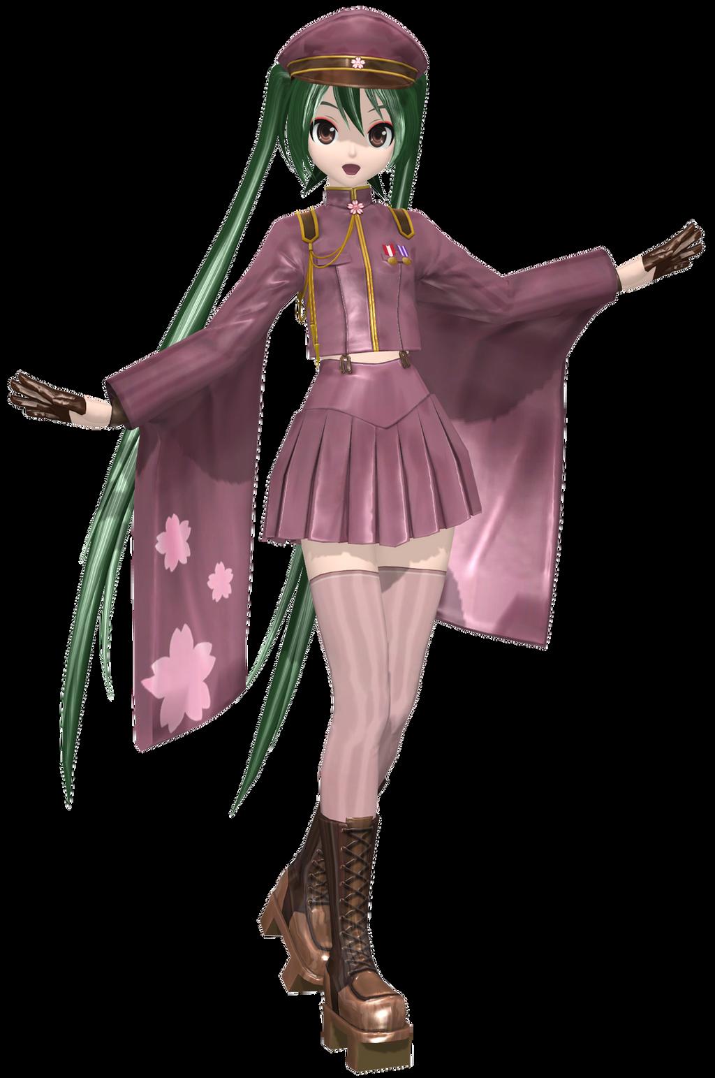 [DTxPDF] .:Ichi-no-Sakura Blossom Miku:. by PiettraMarinetta