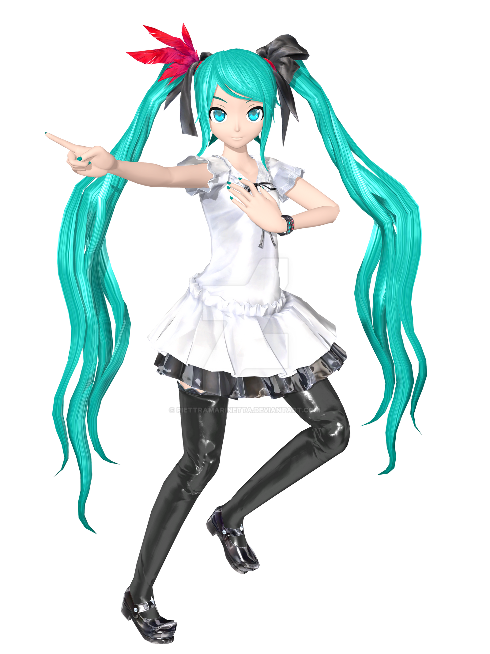 [DT x PDF2nd] .: Supreme Miku :. by PiettraMarinetta