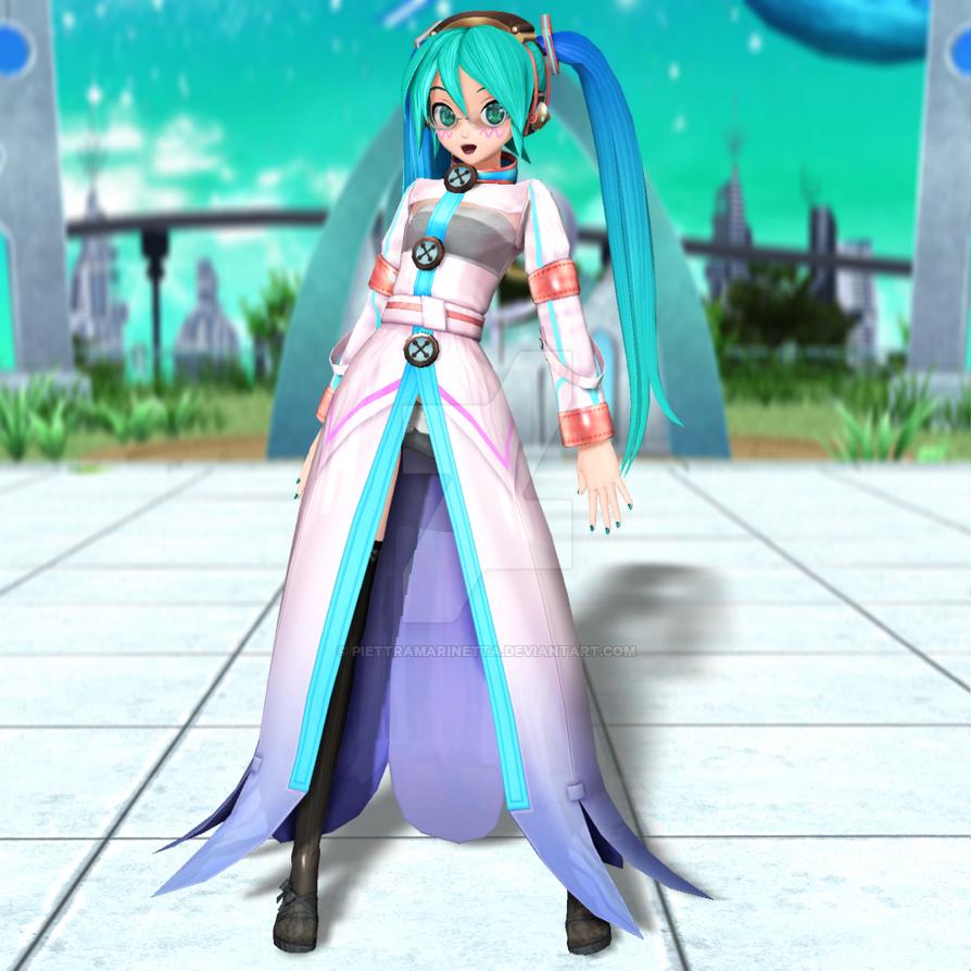 .: Engage Hatsune Miku :. by PiettraMarinetta