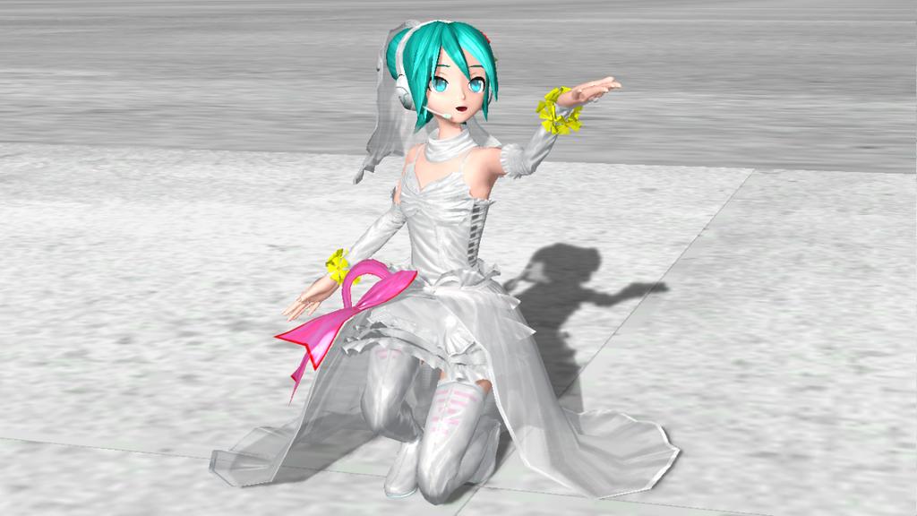 [Dreamy Theater 1st] White Dress Physics by PiettraMarinetta