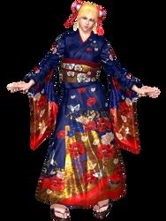 [VF5] Sarah Bryant Kimono by PiettraMarinetta
