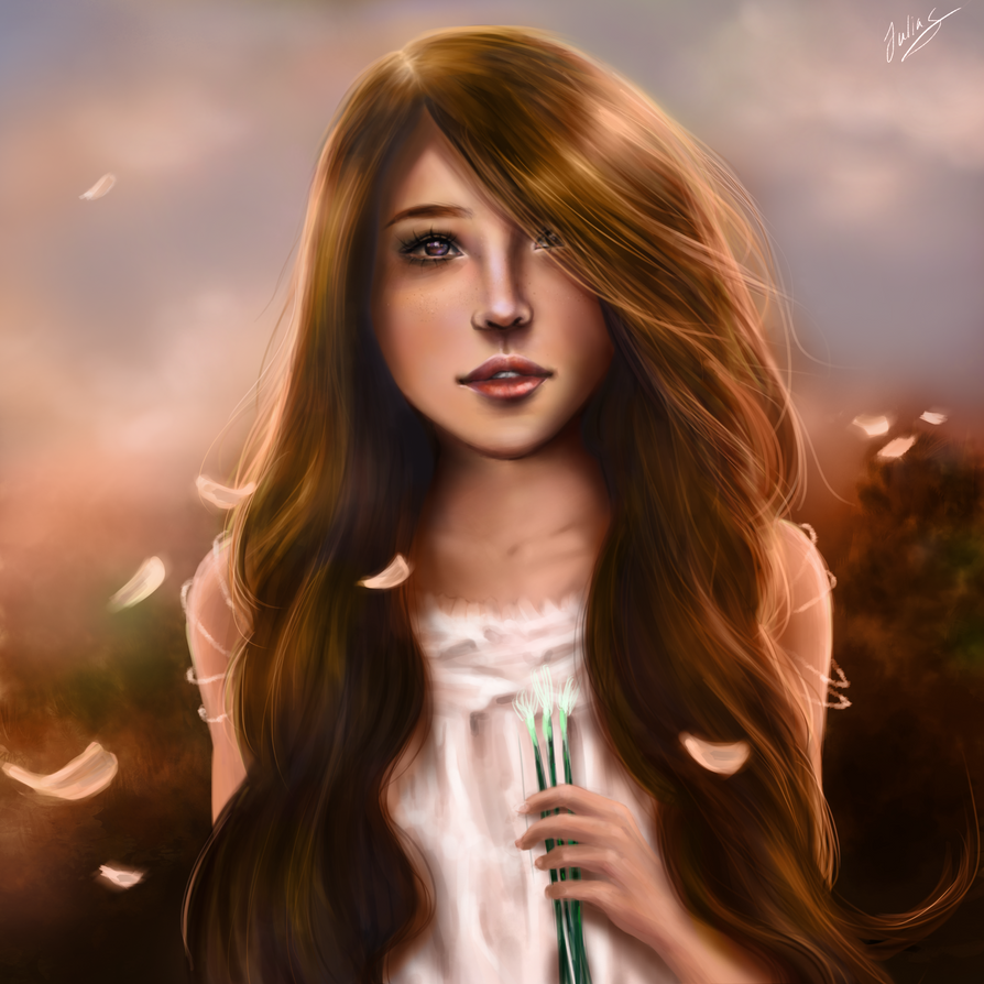 Garden Girl by JeoSiri on DeviantArt