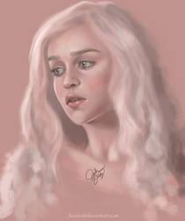 Daenerys Targaryen by JeoSiri