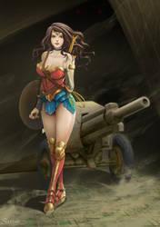 Fanart Wonder Women by KissSatsuki