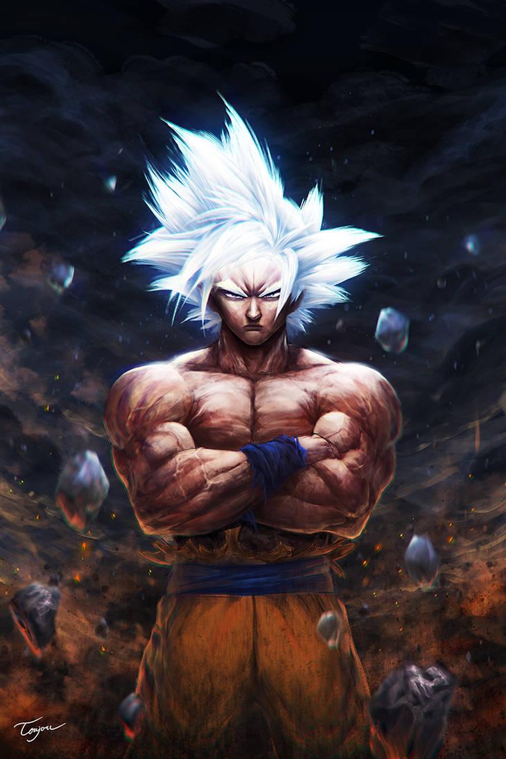 Goku UI - Fanart by KissSatsuki