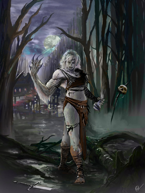 Elhisandr, the feral alchemist by Oartbox