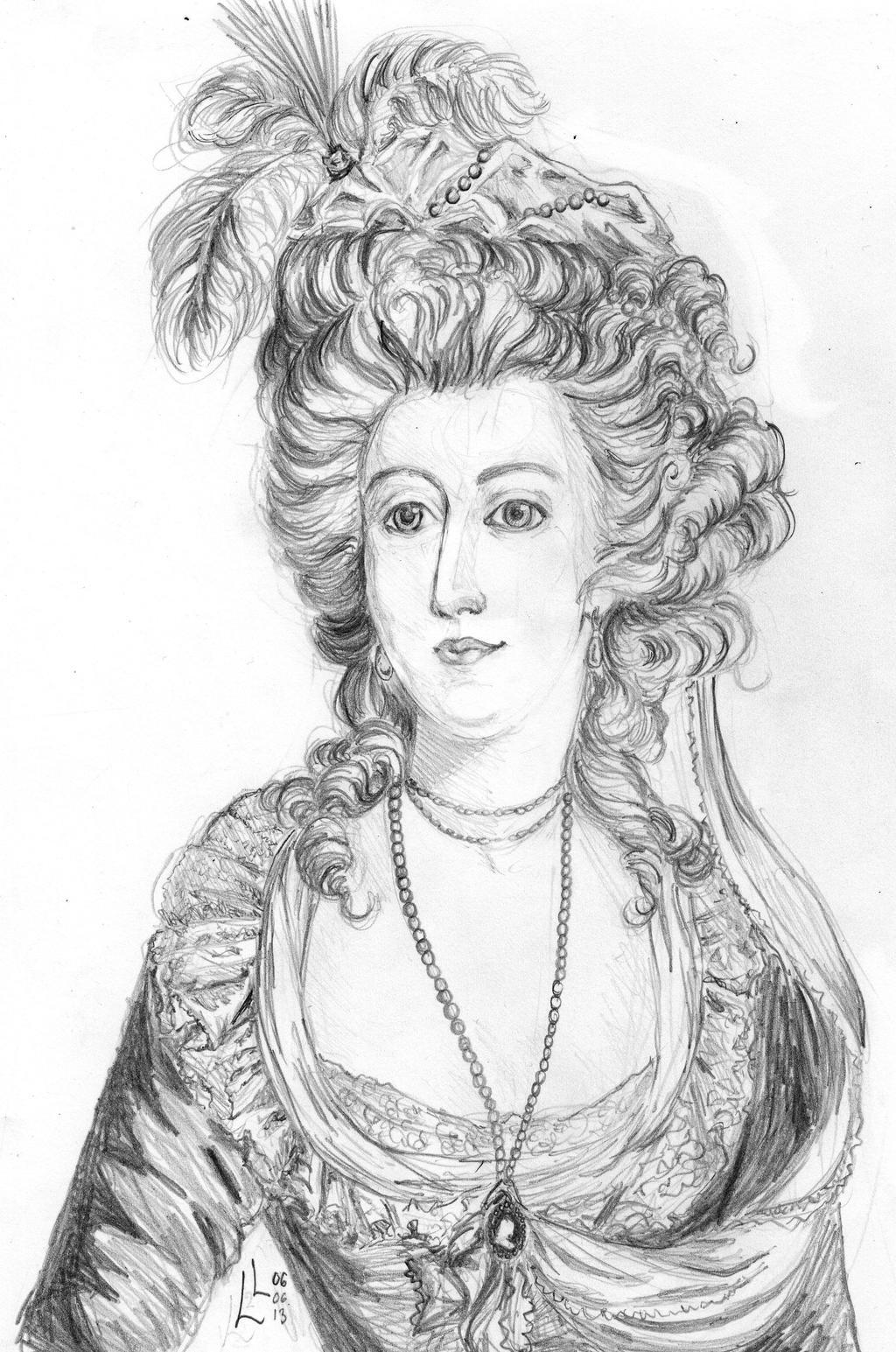 Marie-Antoinette d'Autriche by LyrykenLied