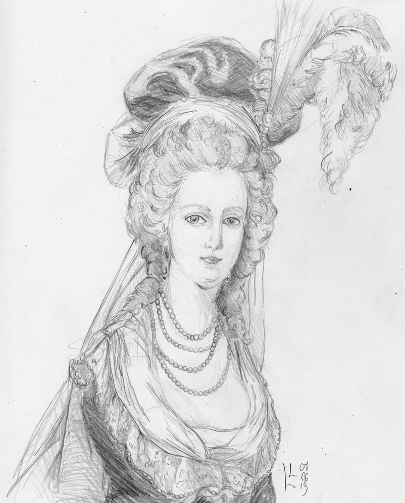 Queen Marie-Antoinette by LyrykenLied