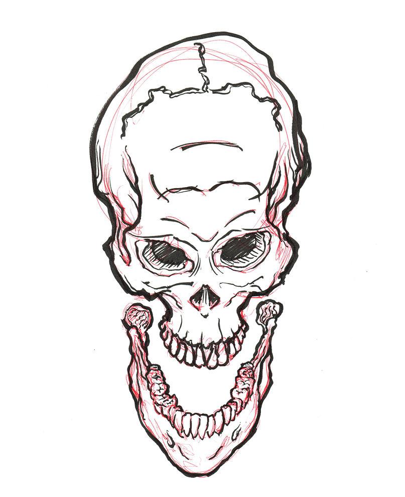 Jaw Skull by heidel