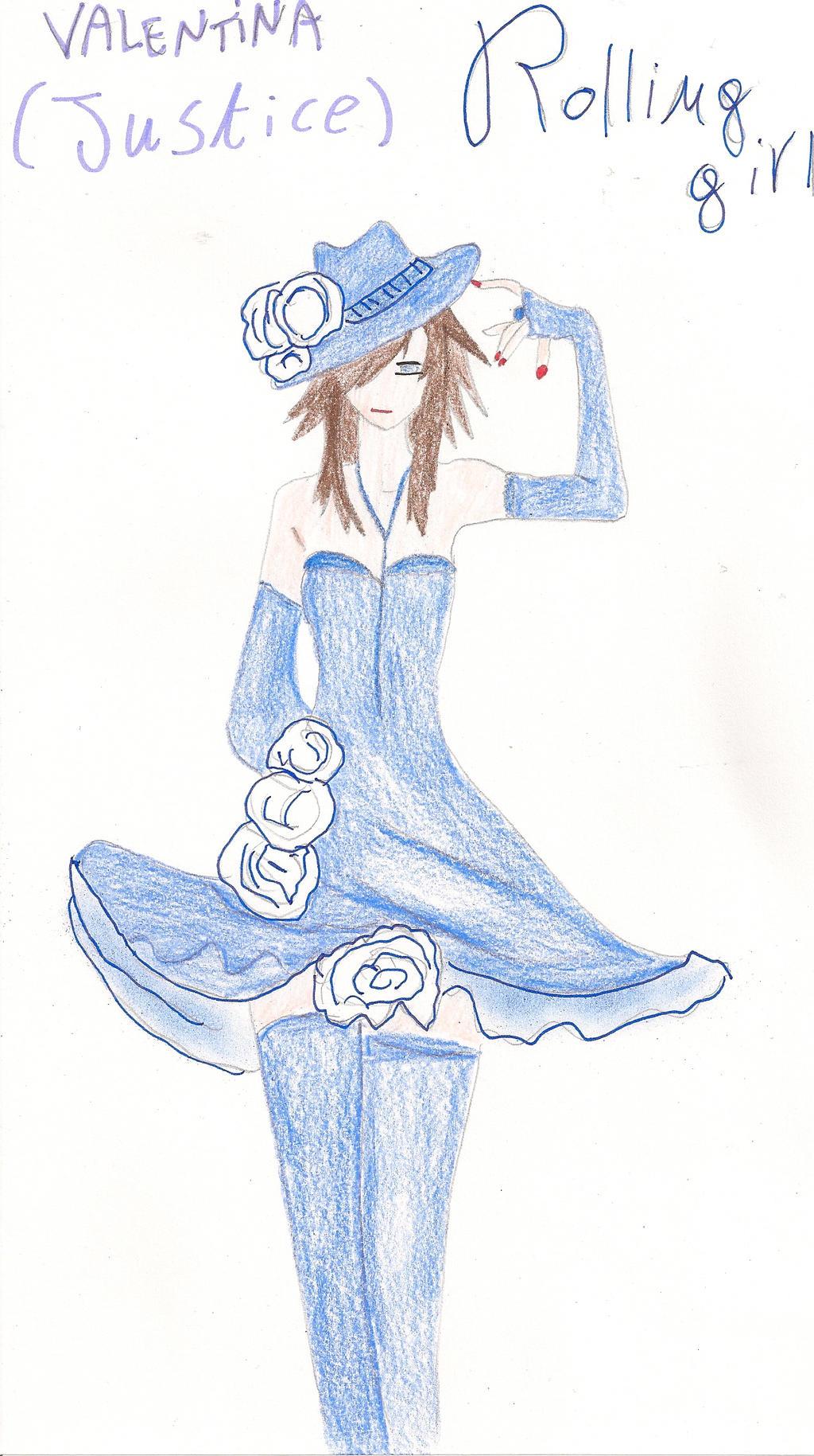 Ask Valentina/justice by SarahShirabuki8000