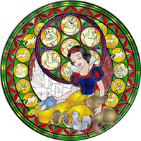 Snow White Stained Glass by Maleficent84