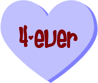 "Ever"" Candy Heart clipart by Maleficent84 on deviantART"