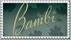 Bambi Disney Stamp