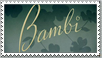 Bambi Disney Stamp by Maleficent84