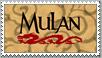 Mulan Disney Stamp by Maleficent84