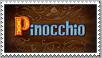 Pinocchio Disney Stamp