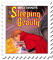 Sleeping Beauty Cover Stamp by Maleficent84